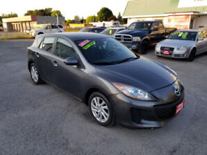 2012 MAZDA 3 *** ONLY 102,000 KM *** CERTIFIED $6999