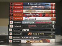 11 jeux de PS2