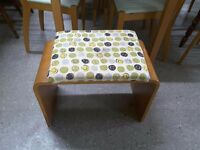 SALE NOW ON!! Retro Dressing Table Stool - Can Deliver For £19