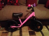 Kiddimoto girls balance bike