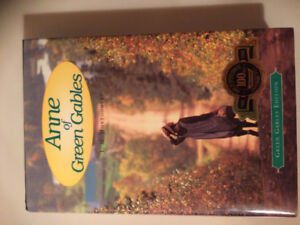 Limited Edition, Exclusive Anne of Green Gables Hard Cover