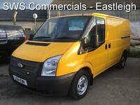 2011 (61) FORD TRANSIT T300 2.2 125 EX AA SWB/ LOW ROOF DIESEL VAN - 1 OWNER 89K