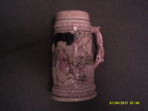 Traditional-styled Ceramic German Beer Stein