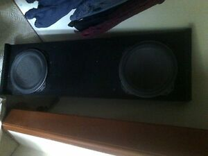 08 up gm sub box an kenwood subs