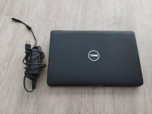 Laptop Dell 15.6pouces avec SSD et Windows 10