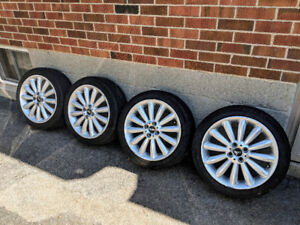 "Mini Cooper original Tires & Rims 17"" (205/45 R17) Mayfair"