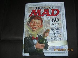TOTALLY MAD 60 YEARS HC COLLECTION W/ 12 BONUS PRINTS