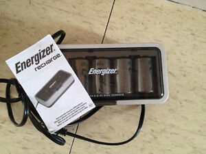 Energizer rechargeable batteries and system