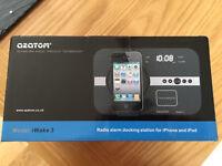 Radio Alarm Docking Station for iPhone / iPod
