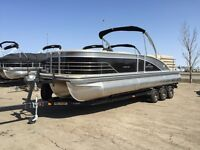 Here's a boat that was bought when  Dollar was HIGH with a 300hp