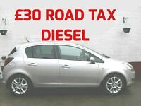 DIESEL £30 ROAD TAX 2011 VAUXHALL CORSA 1.3 SXi CDTi ECOFLEX