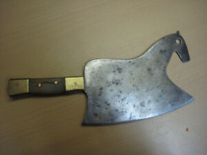 Rare Bavarian Meat Cleaver 1870 .s      Collectors piece