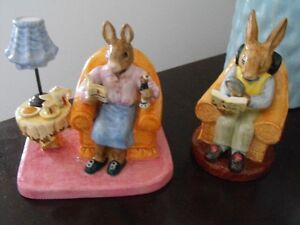 Royal Doulton Mr. and Mrs. Collector Bunnykins Set