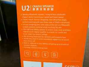 U2 5W Portable Bluetooth Speaker.  Cambridge Kitchener Area image 5