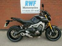 Yamaha MT09, 2013, 63 REG, ONLY 16,514 MILES, EXCELLENT COND, NEW TYRES