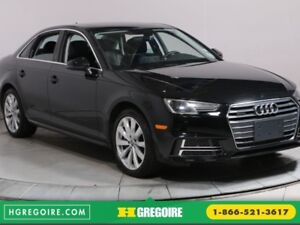 2018 Audi A4 Komfort TURBO MAGS BLUETOOTH CUIR TOIT OUVRANT