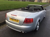 A4 CONVERTIBLE S / LINE 07 REG LIKE NEW IN VERY GOOD CONDITION IN/OUT.FULL SERVICE HISTORY,1 OWNER