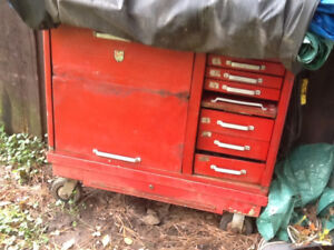 Tools.     Tool chest
