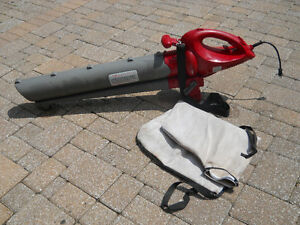Leaf Blower and Vac electric  works great like new