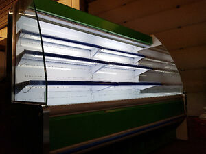 Drop-In Heated Display Food Cases for Grocery Stores, Cafes