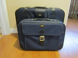 Suitcases Set of 2 Soft Leather