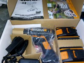 Worx 20 v drill new boxed