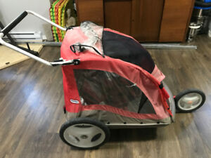 LilTykes Twin Stroller/Bicycle Trailer
