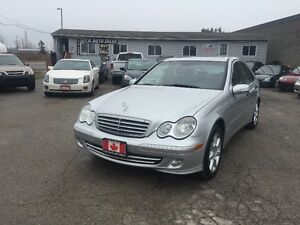 2005 MERCEDES  AWD LIMITED LEATHER SUNROOF CERTIFIED & E-TEST London Ontario image 2