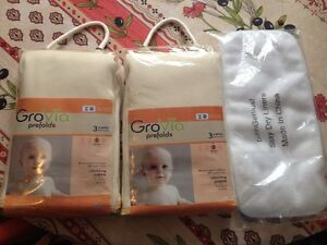 New Cloth diaper couche lavable prefolds