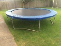 14' super tramp, trampoline
