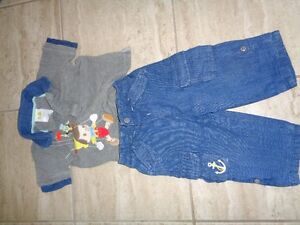 12 month boys Pinocchio outfit