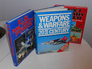 Three Large Military Coffee Table Books: Take all for $10