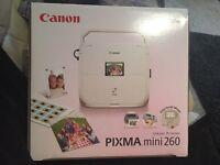 Canon PIXMA mini 260 inkjet printer Brandnew