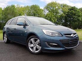 Vauxhall Astra 1.6 i VVT 16v SRi 5dr (blue) 2013