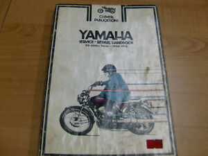 YAMAHA 90-200cc TWINS TWO STROKE CLYMER MANUAL