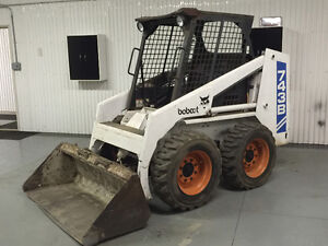 1993 Bobcat 743B swap/trade for backhoe