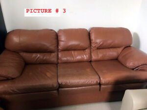 MOVING --2 PC SOFA FOR SALE -BRAMPTON