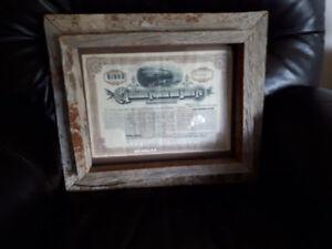 Real Vintage Real Raw WOOD Frame