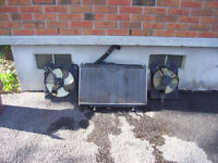 Honda Accord – 2 Door Coupe – Radiator & Fans