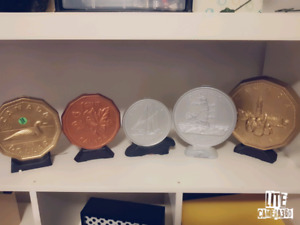 LAST CHANCE!!! Canadian coin banks!
