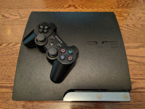 160 GB Sony Playstation 3 Slim with  Games!
