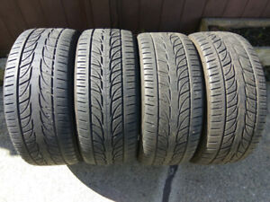 Set of four Kumho or Bridgestone RE970AS Pole Position 225/45/17