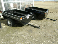 NORBERT TUB TRAILER - SINGLE AXLE
