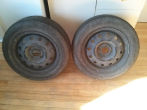 2 Toyota Echo Summer Tires Firestone FR710