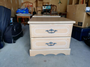 Bedroom end tables for sale