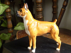 "Royal Doulton Dog Figurine - "" Boxer "" - HN2643"
