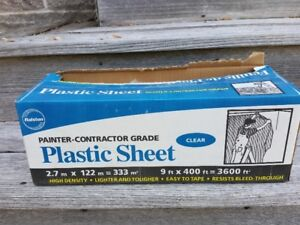 Ralston painting drop sheet - almost full box