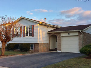 3+1 bedrooms house in south east Burlington for lease