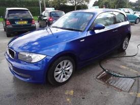 BMW 118i ES 2.0~57/2007~3 DOOR HATCHBACK~6 SPEED MANUAL~GREAT SPEC~GORGEOUS BLUE