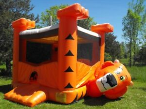 Bouncy Castle Tiger.. Selling for $500 Firm